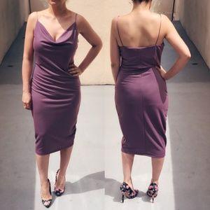 Dresses & Skirts - Draped Slinky Chíc Midi - hides cellulite! lol NWT